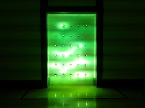 Mario de Vega, 30 luminarias de 12,000 watts, 2013.