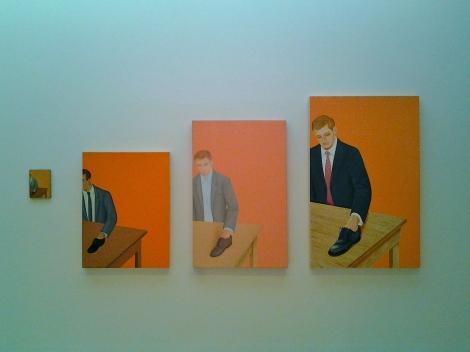 Francis Alÿs, _Sin título (El mentiroso, la copia del mentiroso)_, 1994. Colección Museo Tamayo Arte Contemporáneo, INBA-Conaculta. Adquisición reciente.