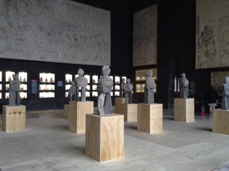Vista de la exhibición